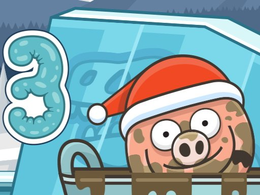 Play Piggy In The Puddle Christmas Game