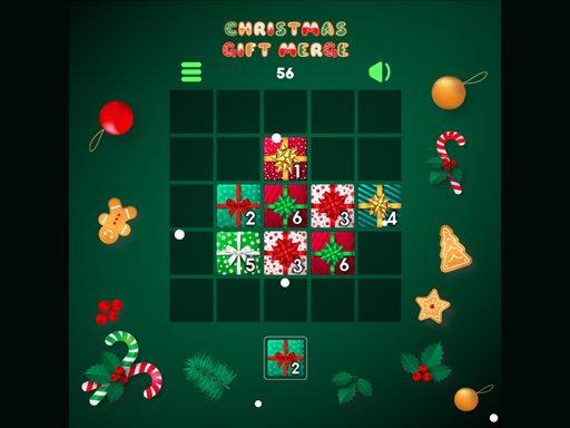 Play Christmas Gift Merge Game