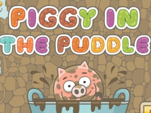 Play Piggy In The Puddle Game