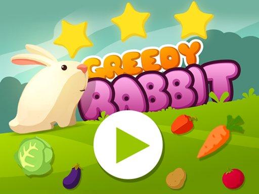 Play Greedy Rabbit Platformer Game