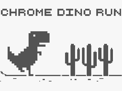 Play Chrome Dino Run Game