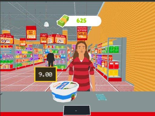 Play Market Shopping Simulator Game