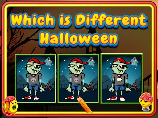 Play Which Is Different Halloween Game