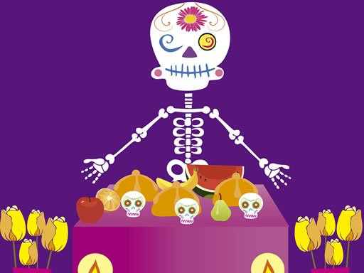 Play Skeleton Party Hidden Game