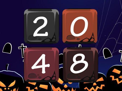 Play Halloween 2048 Game