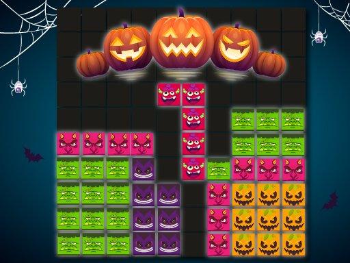 Play Blocks Puzzle Halloween Game