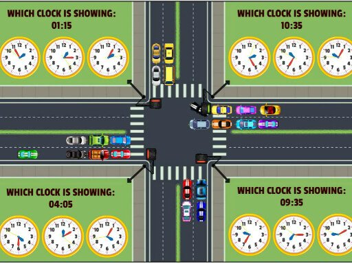 Play Traffic Control Time Game