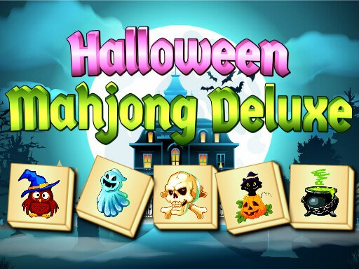 Play Halloween Mahjong Deluxe Game