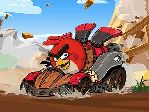 Play Angry Birds Kart Hidden Stars Game
