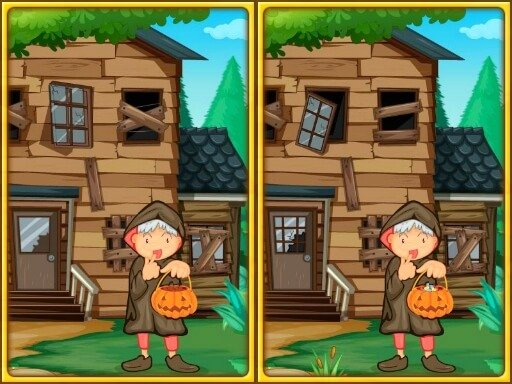 Play Spot The Differences Halloween Game