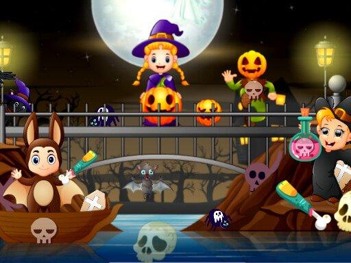 Play Halloween Hidden Objects Game