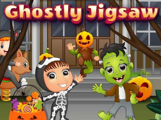 Play Ghostly Jigsaw Game