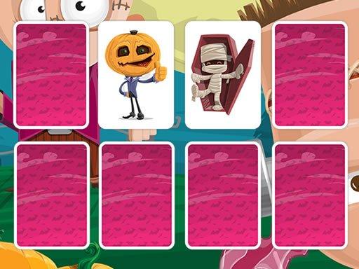 Play Fun Halloween Memory Game