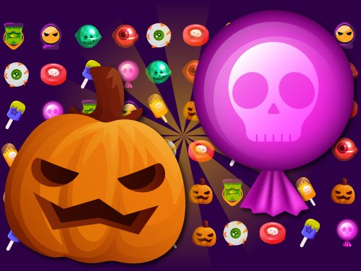 Play Sweet Candy Halloween Game
