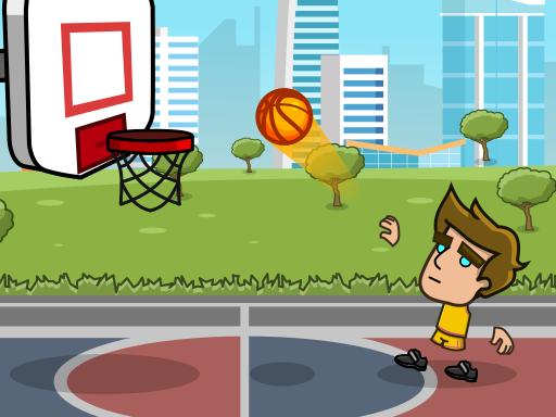 Play Street Basketball Game