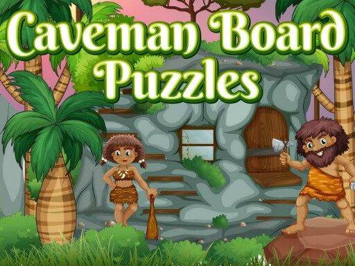 Play Caveman Board Puzzles Game