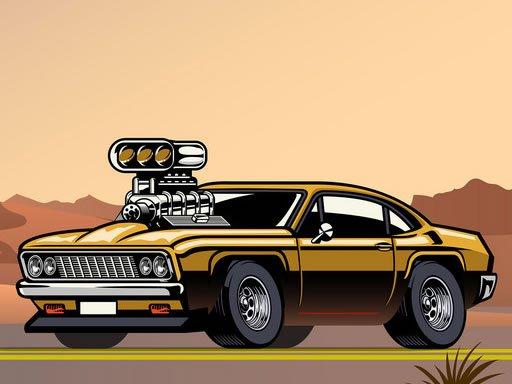 Play Crazy Big American Cars Memory Game