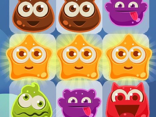 Play Crazy Jelly Match Game