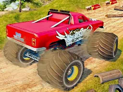 Play Island Monster Offroad Game