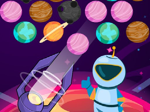 Play Bubble Planets Game