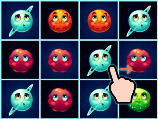 Play Planets Match 3 Game