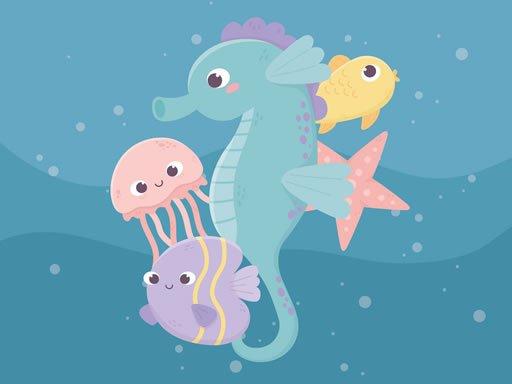 Play Adorable Fish Memory Game