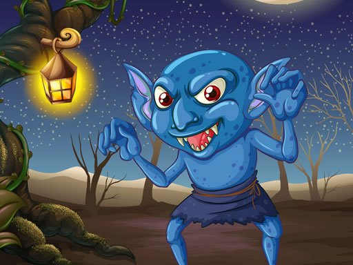 Play Goblin Fight Match 3 Game