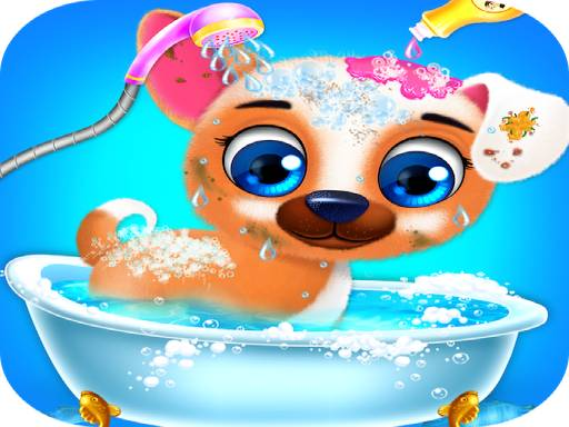 Play Puppy Care Game
