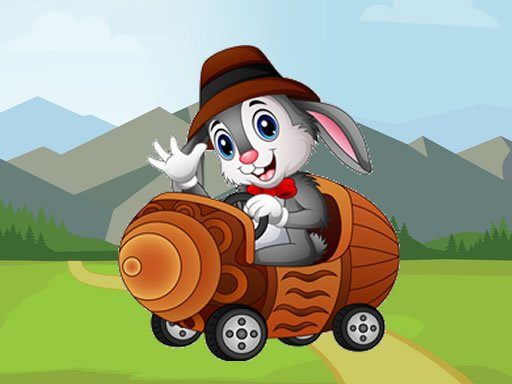 Play Cartoon Animals In Cars Match 3 Game