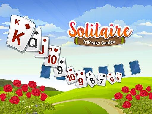 Play Solitaire TriPeaks Garden Game