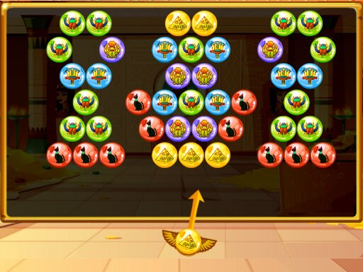 Play Bubble Shooter Egypt Game