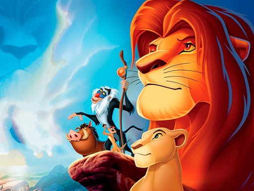 Play Lion King Jigsaw Puzzle Collection Game