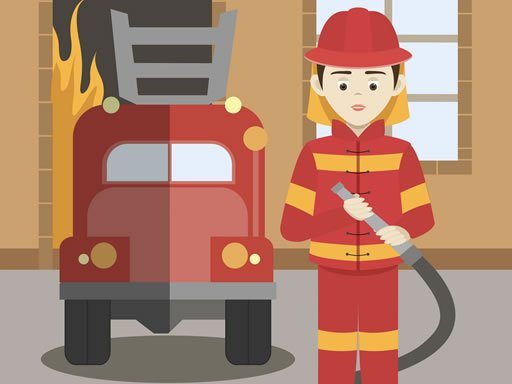 Play Firefighters Match 3 Game