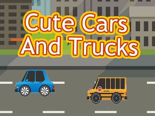 Play Cute Cars And Trucks Match 3 Game