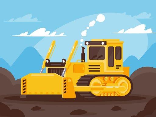 Play Big Trucks And Cars Memory Game