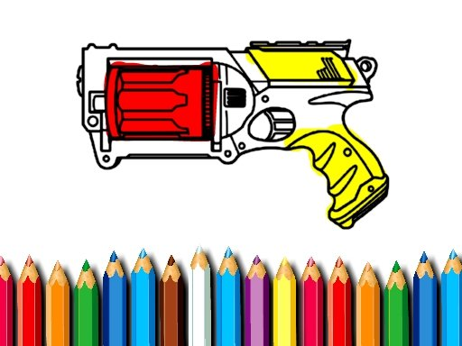 Play BTS Nerf Coloring Game