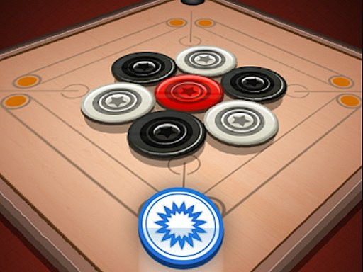 Play Carrom 2 Player Game