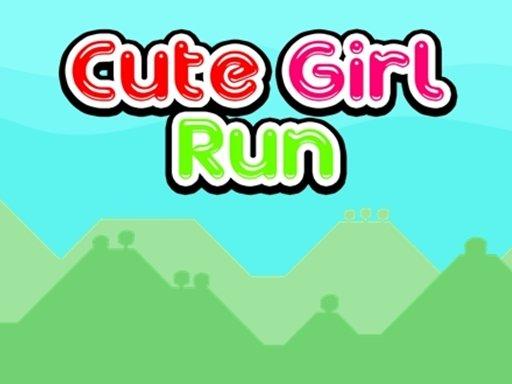 Play Cute Girl Run Game