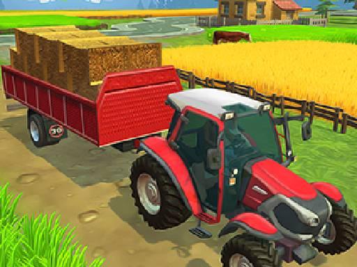 Play Farming Town Game