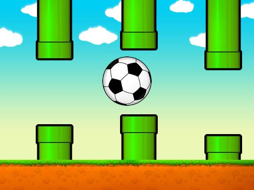 Play Flappy Soccer Ball Game