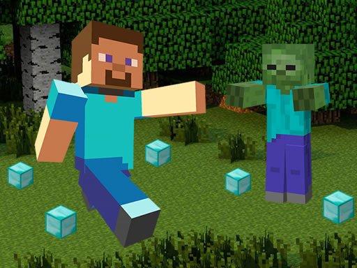 Play Minecraft Hidden Diamond Blocks Game