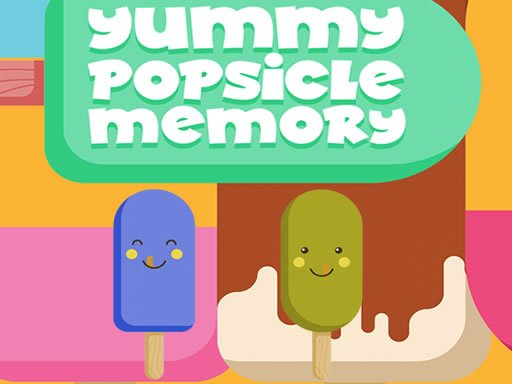 Play Yummy Popsicle Memory Game