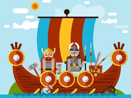 Play Spartan And Viking Warriors Memory Game
