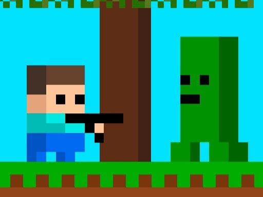 Play Minescraft Steve Adventures Game