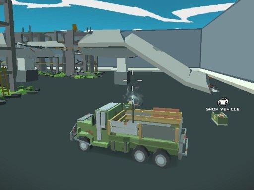 Play Pixel Vehicle Warfare Game