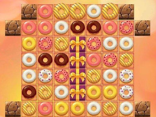 Play Donuts Crush Saga Game