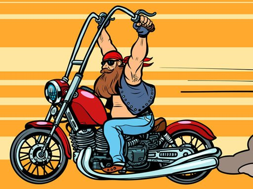 Play Extreme Motorbikes Match 3 Game
