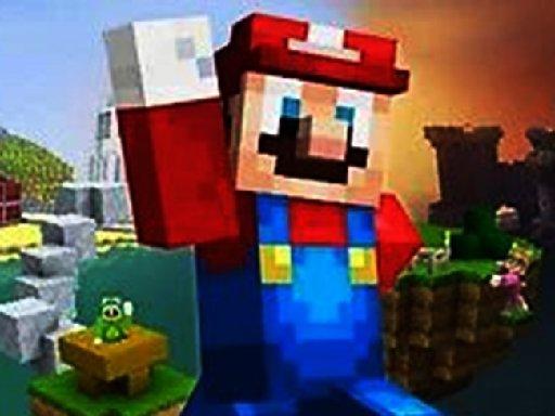 Play Minecraft Mario Jigsaw Puzzle Game