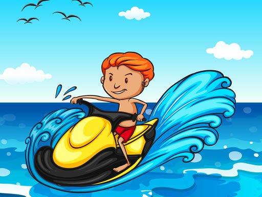 Play Jet Ski Summer Fun Hidden Game