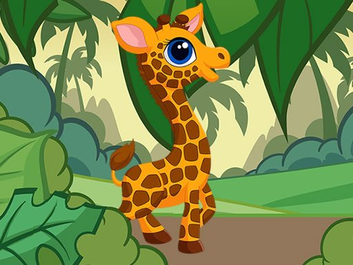 Play Giraffe Jigsaw Game